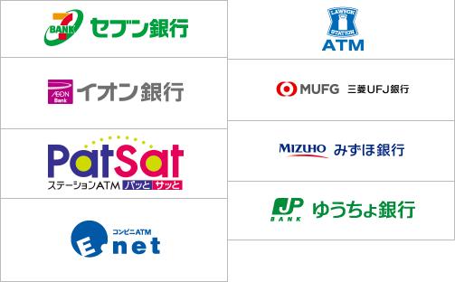 新生銀行 提携ATM