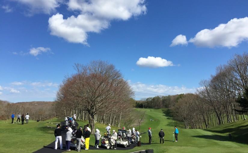 3回目の原田ゴルフコンペは40人中11位でした。